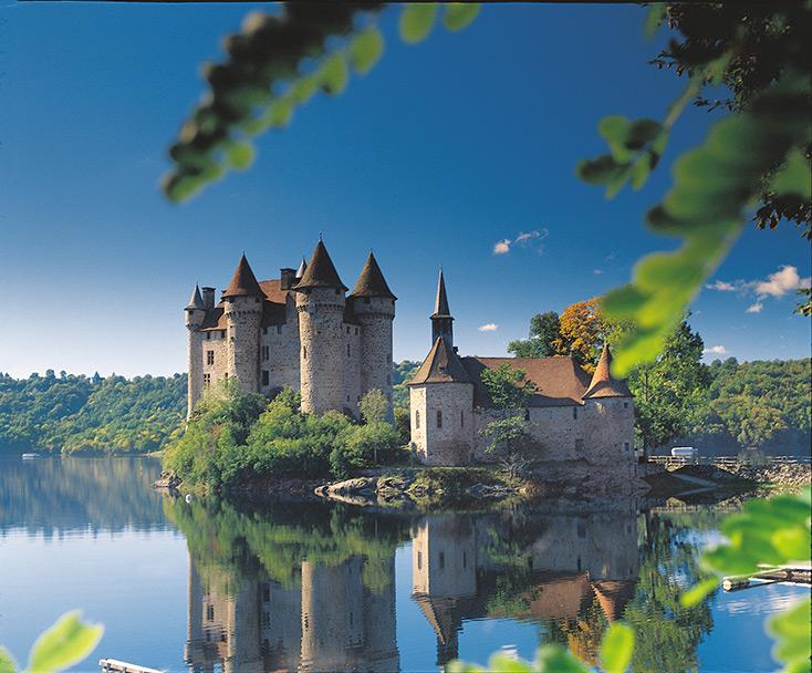 """The """"Château de Val"""" – Lanobre"""