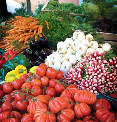 Saint-Cyprien market