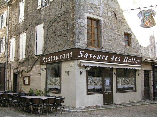 """The """"Saveurs des Halles"""" restaurant – Martel"""